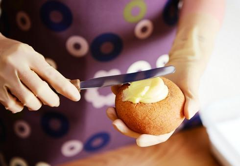 ミスド クレームブリュレドーナツの作り方