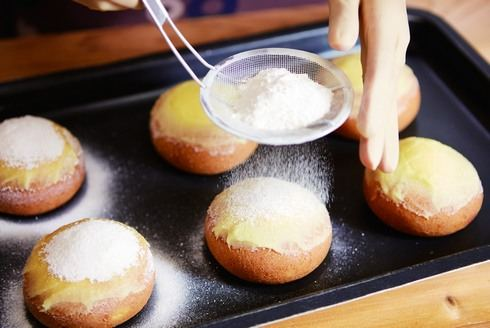 クレームブリュレドーナツ 作り方2