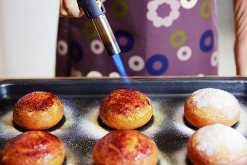 ミスタードーナツ クレームブリュレドーナツの作り方