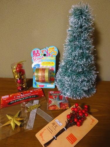 100円均一のクリスマスアイテム3