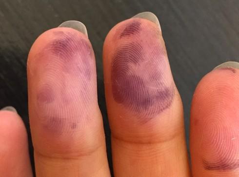 手についたプリンターのインクを落とす方法