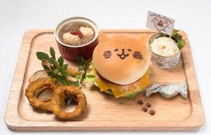 渋谷パルコ カナヘイカフェ よくばりプレート