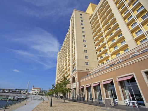USJホテル ユニバーサルポートの外観