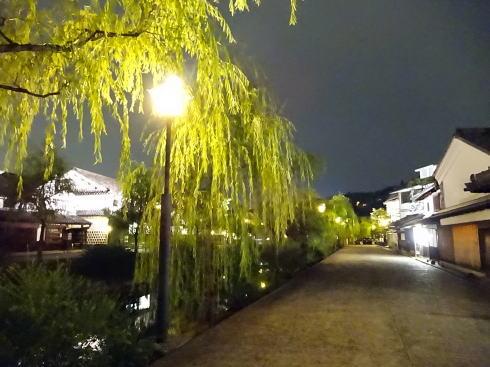 倉敷・美観地区の夜景 画像1