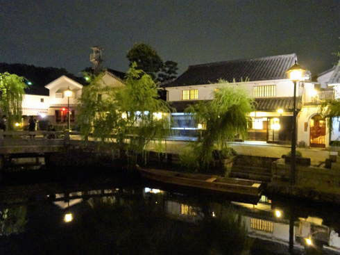 倉敷・美観地区の夜景 画像3