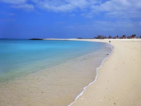 沖縄 美らSUNビーチの砂浜
