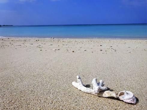沖縄・美らSUNビーチの美しすぎる砂浜