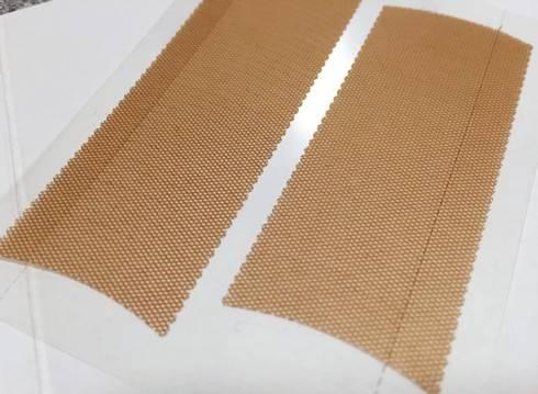 ダイソーの二重テープ(アイテープ)絆創膏の使い方