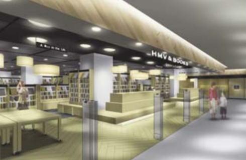 博多マルイ HMV店舗イメージ