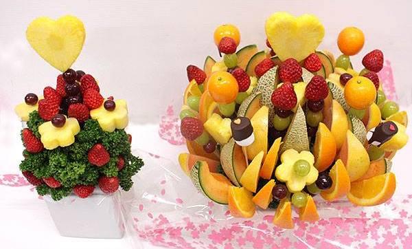 フルーツで花束を!