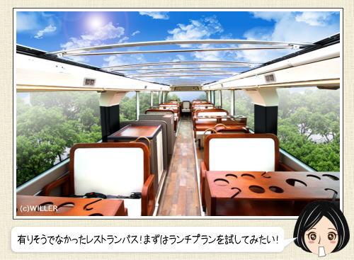 レストランバス、食事できる観光2階建てバスが新潟で日本初登場