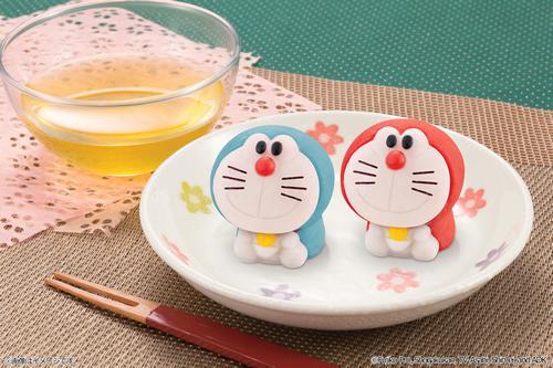 あら可愛い!ドラえもんが和菓子に、全国のイオン等で