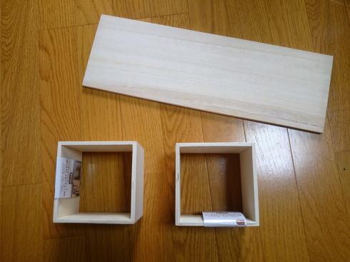 キッチン整理・収納棚 の材料