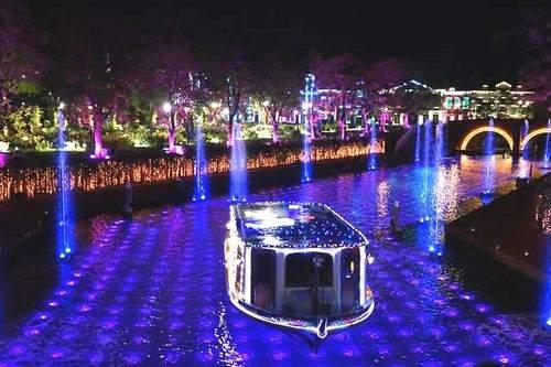 ハウステンボス 光の運河