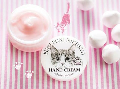 フェリシモ猫部 ポップアップショップで発売するハンドクリーム