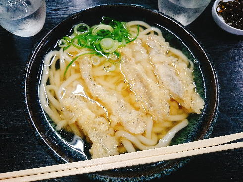 福岡の柔らかうどん ごぼ天 画像3
