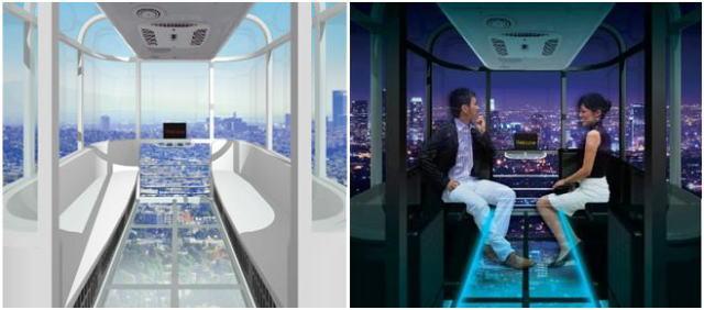 VIPゴンドラも!大阪に高さ日本一の観覧車が登場、足元スケスケのシースルー