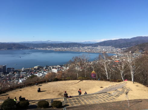 長野県諏訪市の風景