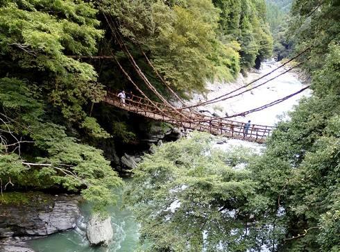 四国・祖谷のかずら橋