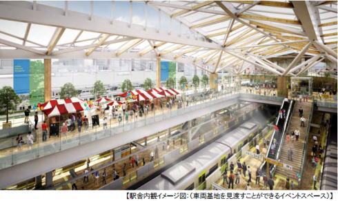 品川新駅 イメージ画像3
