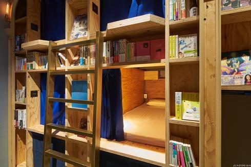 泊まれる本屋、BOOK AND BED TOKYO 京都店