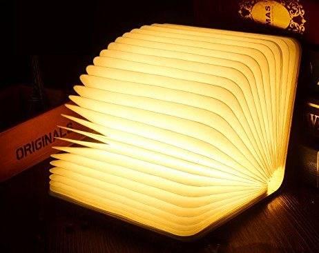 ブック型 ベッドサイドランプ