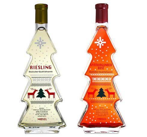 カルディ クリスマスボトルのワイン