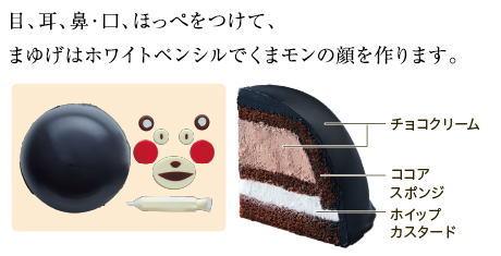 ローソン みんなで作る くまモンのケーキ