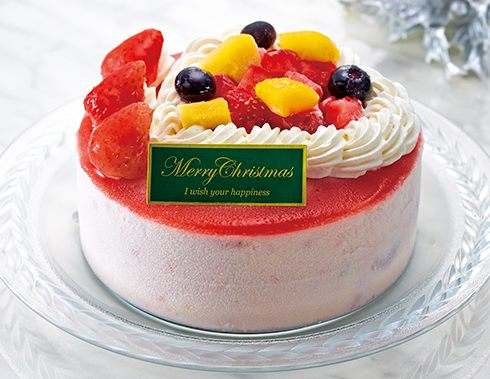 ローソンの果実と豆乳のアイスケーキ