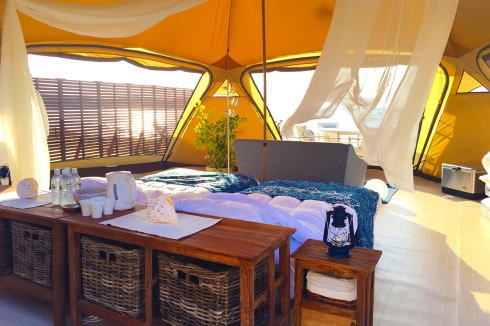 かりゆしビーチグランピング リゾートスタイル