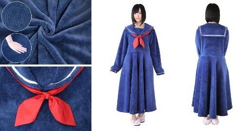 毛布タイプのセーラー服 セラコレ
