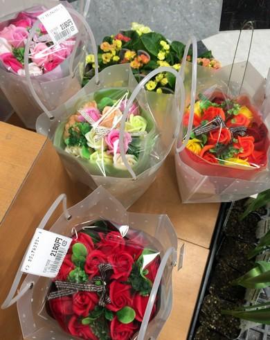 シャボンフラワーの花束