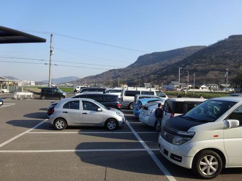 香川 がもううどん 駐車場