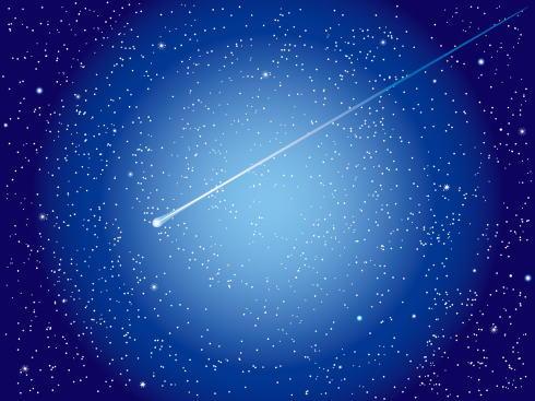 4月こと座流星群2017、極大日(ピーク)は条件良好
