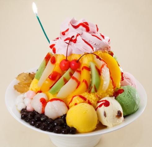 台湾カフェ「Zen」マンゴーかき氷