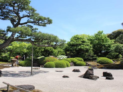 島根 由志園 園内の風景7