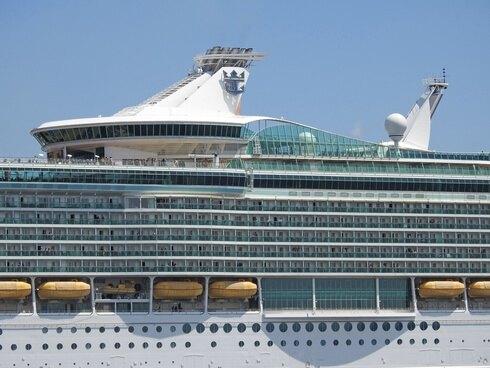 マリナーオブザシーズ、五日市港へ入港