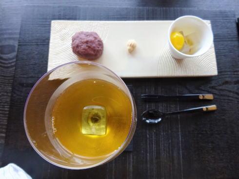 周防大島 お寺カフェ 氷淹れ冷茶セット2