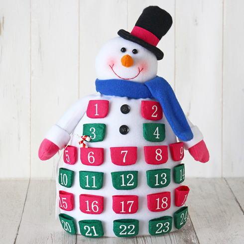 アドベントカレンダー、クリスマスまでカウントダウンするアイテムがかわいい