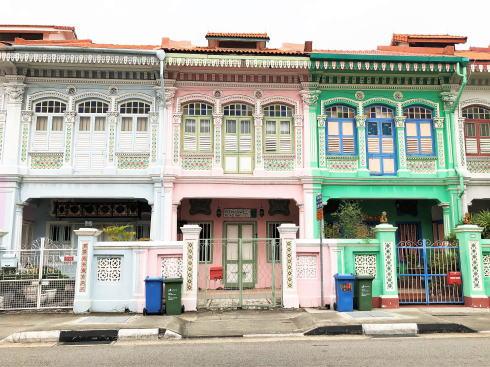 シンガポール カトン地区 クーンセン通り3