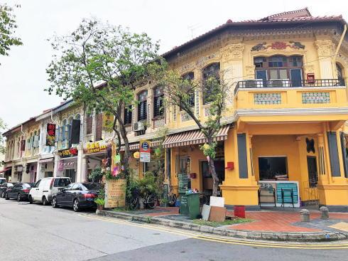 シンガポール カトン地区 ジョーチアット通り