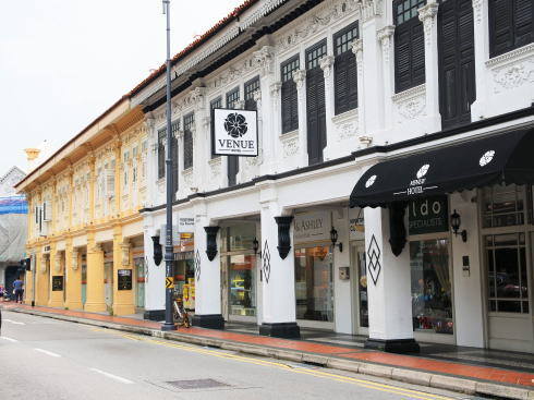 シンガポール カトン地区 ジョーチアット通り2