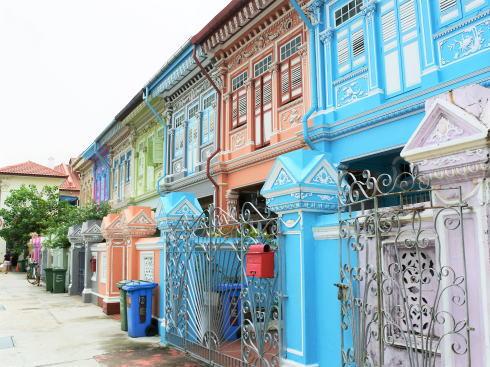 シンガポール カトン地区 クーンセン通り2