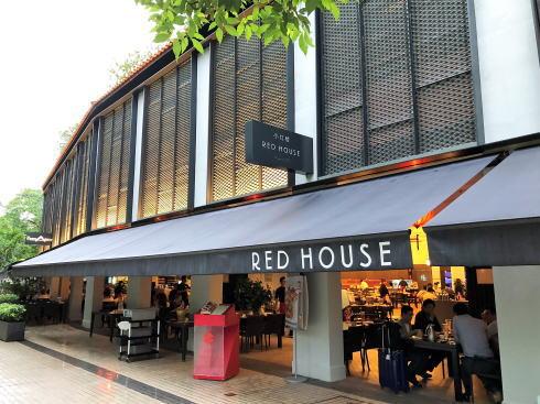 シンガポール レッドハウスでチリクラブ!