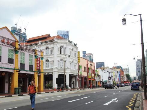 シンガポール チャイナタウン の風景2