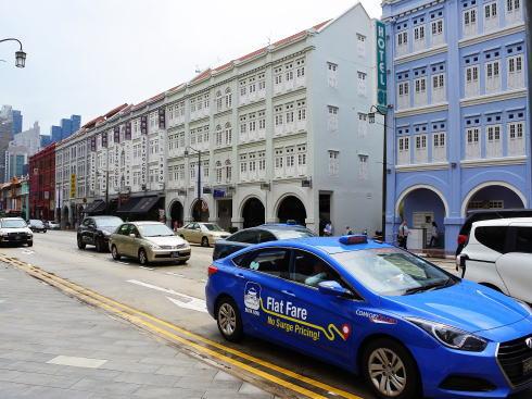 シンガポール チャイナタウン の風景