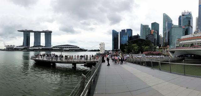 シンガポール マーライオン公園 写真 3
