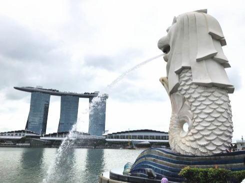 シンガポール マーライオン公園 3