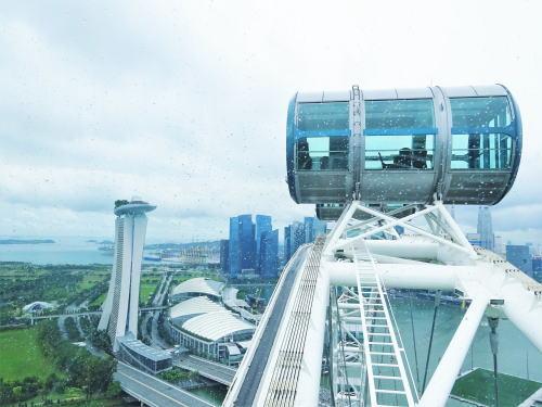 シンガポールフライヤー 後半で見られる風景2