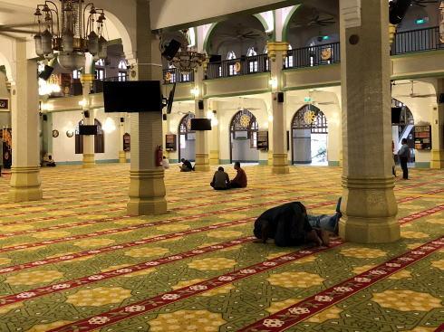 サルタンモスク(シンガポール)館内の様子2